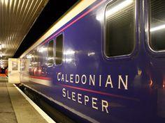 The Caledonian Sleeper to Aberdeen