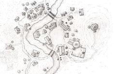 Stock Art: Village Maps