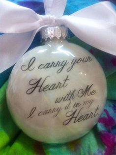 Baby lossbirth memory bauble by Foreverourangels on Etsy  My
