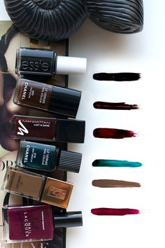teetharejade » Blog Archive » Nail Polish: The Ultimate Fall Colors