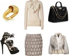 """""""Dior Bag and our favorite Snail Shell Bracelet"""" by costisjewelry on Polyvore"""