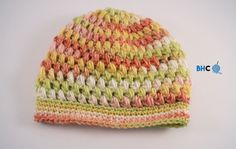 Crochet a beautiful and warm puff stitch hat with this free pattern and video tutorial from B.hooked Crochet. They are perfect for gifts too!