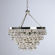 Deco Glam Chandelier Go bold with glamour! With Art Deco elegance, this collection features layers of fabulous crystal pears and balls with brilliant metals. These pieces are updated and ready to add glamour to any room in the house! Chandelier Shades, Modern Chandelier, Chandelier Lighting, Crystal Chandeliers, Lighting Shades, Mini Chandelier, Semi Flush Ceiling Lights, Home Lighting, Lighting Ideas