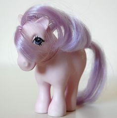 """My Little Pony - """"Powder"""" --This was my very first my little pony!  AWE."""