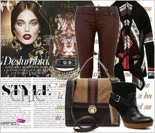Zestaw ubrań Boho Style Chic