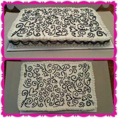 Wedding sheet cake! 8.23.13