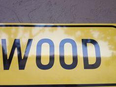 Een woord: WOOD   San Francisco CA, 2013