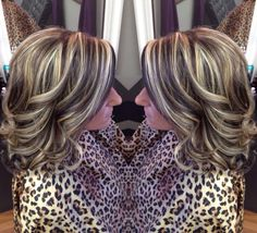 Salon allure best hairstylist ever High lights and low lights.