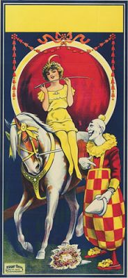 jamaica byles: Vintage Circus Posters
