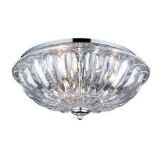 View the Elk Lighting 31242/3 3 Light Flushmount Ceiling Fixture from the Crystal Flushmounts Collection at LightingDirect.com.
