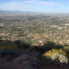 Aerial view of Arizona