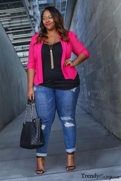 nice Roses are red... - Trendy Curvy by http://www.polyvorebydana.us/curvy-girl-fashion/roses-are-red-trendy-curvy/