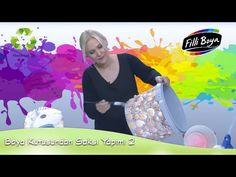Boya Kovasından Saksı Yapımı 2 - YouTube