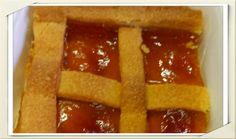 Per chi ama la tradizione dei dolci italiani .. CROSTATA ALLA MARMELLATA DI ALBICOCCHE - #boxlunch #mangiaresano #chefhome