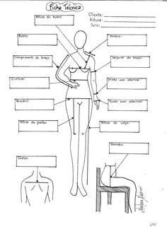 DIY Womens Clothing : Ficha Técnica da Cliente | molde corte e costura Marlene Mukai