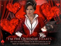 I so called her as the queen of hearts from the first moment it showed her, and no one believed me