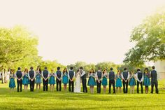 biggggg bridal party, this will be mine one day!!(: