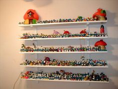 Kathy Lovelace's Smurf collection