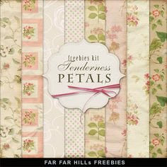 Wednesday's Guest Freebies ~ Far Far Hill ♥♥Join 3,400 people. Follow our Free Digital Scrapbook Board. New Freebies every day.♥♥