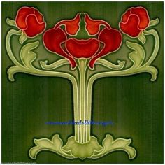 art nouveau poppies - AOL Image Search Results