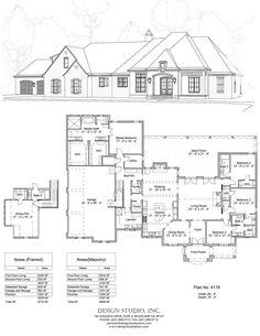 Plan 4820 Design Studio Houses In 2019 House Plans