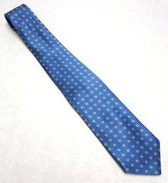 Vintage Necktie Blue Yellow Brooks Brothers Tie by sweetie2sweetie, $9.99
