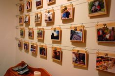 Cool and inexpensive wall display
