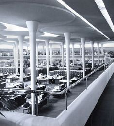 """With his """"Johnson Wax"""" office complex, Frank Lloyd Wright aimed to create an architectural """"gesamtkunstwerk"""""""