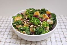 Broccoli Crunch Recipe #sidedish #thanksgiving #broccoli