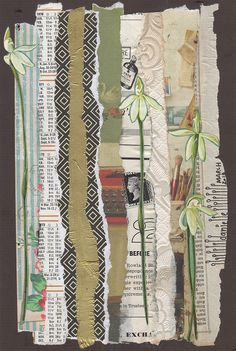 Danielle Maret - Mail Art 2013 #20, via Flickr.