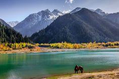 Lake Issyk, Kazakhstan - about kazakhstan dot com. Blog