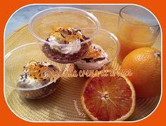 Coppa alla crema di arance e cioccolato