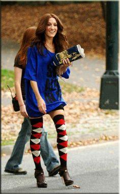 Sarah Jessica Parker as a brunette