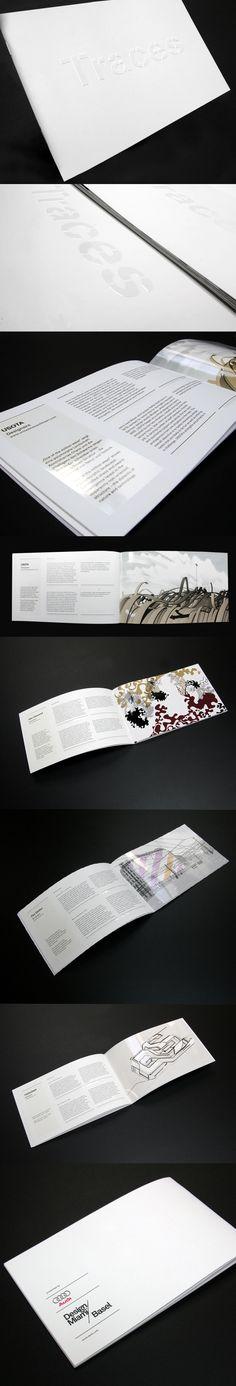 Art Basel / Audi artist catalogue by Malte Schweers, via Behance