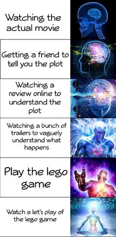 How to properly watch a popular movie