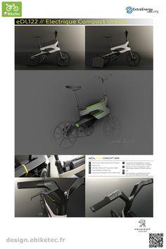 eBikeTec design contest public voting project: name: Peugeot Scooter Design, Electric Scooter, Peugeot, Public