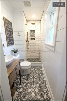 Bathroom decor for your master bathroom renovation. Learn bathroom organization, master bathroom decor ideas, master bathroom tile some ideas, bathroom paint colors, and more. Bathroom Renos, Bathroom Renovations, Home Remodeling, Bathroom Cabinets, Dyi Bathroom, Simple Bathroom, Remodel Bathroom, Bathroom Mirrors, White Bathroom