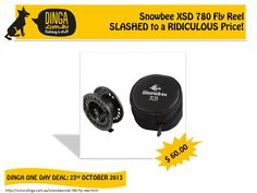 Dinga Fishing & Stuff offers one day deal on Snowbee XSD 780 Fly Reels at very affordable prices. This is a saltwater resistant fly fishing reel that has features such as the precision alloy frame & Stainless Drag System.