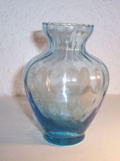 Hyazinthenglas Hyazinthenvase türkis blau Krokus Vase