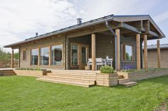 Scandinavian style log cabins and holiday lodges for quality living - Honka My Home Design, House Design, Scandinavia House, Modern Cabin Interior, Cabin Interiors, Best House Plans, Design Case, Van Design, Wooden House