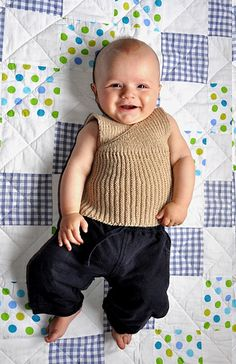 41f4583ed 22 Best Knitted baby vests images