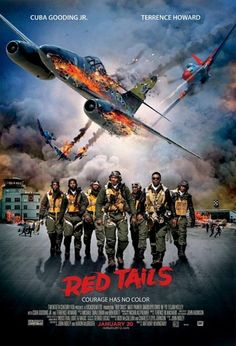 Red Tails: A true story about African American parashooters. This is a must see. 'Courage has no color'