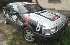 Naklejki na samochód dla autoserwisu D.Gajzner 1
