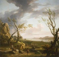 The Mouth of an Estuary, 1760 - George Lambert