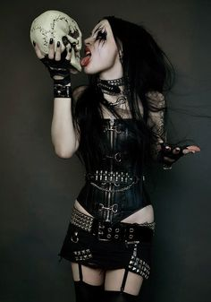 black Metal barbie