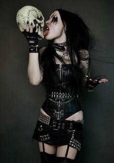 black Metal barbie