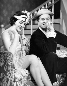 Natalie Wood and Bob Hope