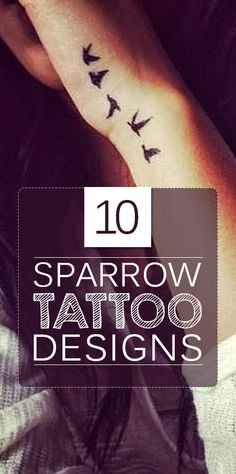 In very less time, Sparrows have gained much attention in tattoo art world. Let these top ten sparrow tattoo designs inspire you with all that is ...