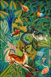 Indigo is a gallery of international Folk Art located in Philadelphia, PA. Haitian Art, Folk Art, Indigo, Art Gallery, Paintings, Art Museum, Popular Art, Indigo Dye, Paint