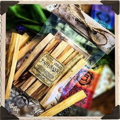 PALO SANTO SMUDGE WANDS: 6 Pack For Spiritual Cleansing, Healing, Enlightenment.